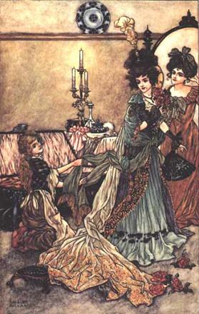 Cinderella by Charles Folkard.