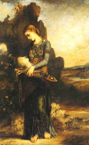 Orphée (1865) by Gustave Moreau.