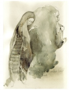 """There's A Stair In Her Hair"" by Rima Staines"