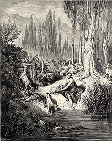 Illustration for Charles Perrault's Peau d'ane, by Gustave Doré